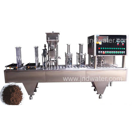 Automatic K Cup Coffee Capsule Filling and Sealing Machine