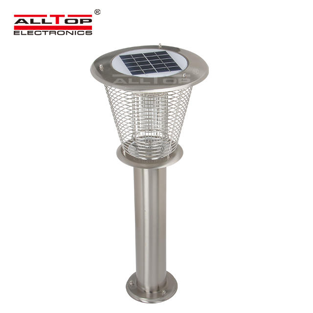 New products Eco-Friendly 3W led solar mosquito killer lamp