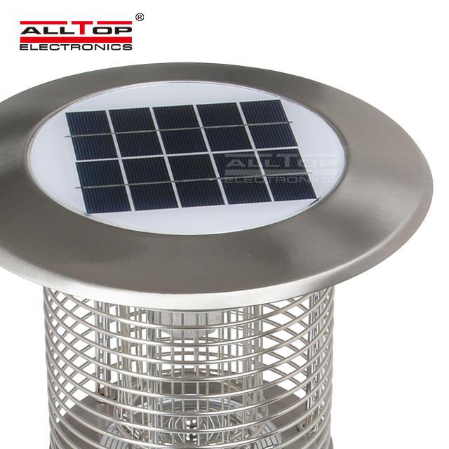 China suppliers high quality 3 watt led solar mosquito killing lamp