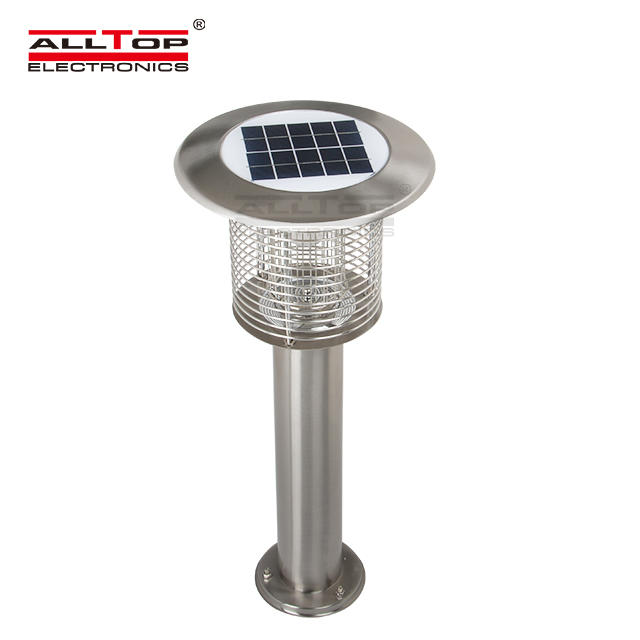 China suppliers high quality 3 watt led solar mosquito killing lamp