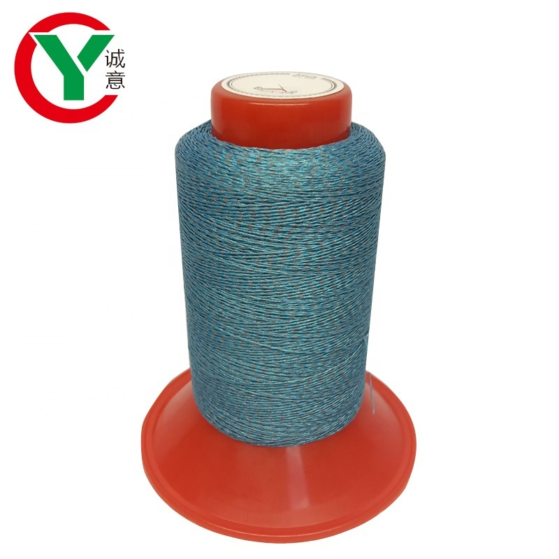 high quality reflective yarn thread for knitting