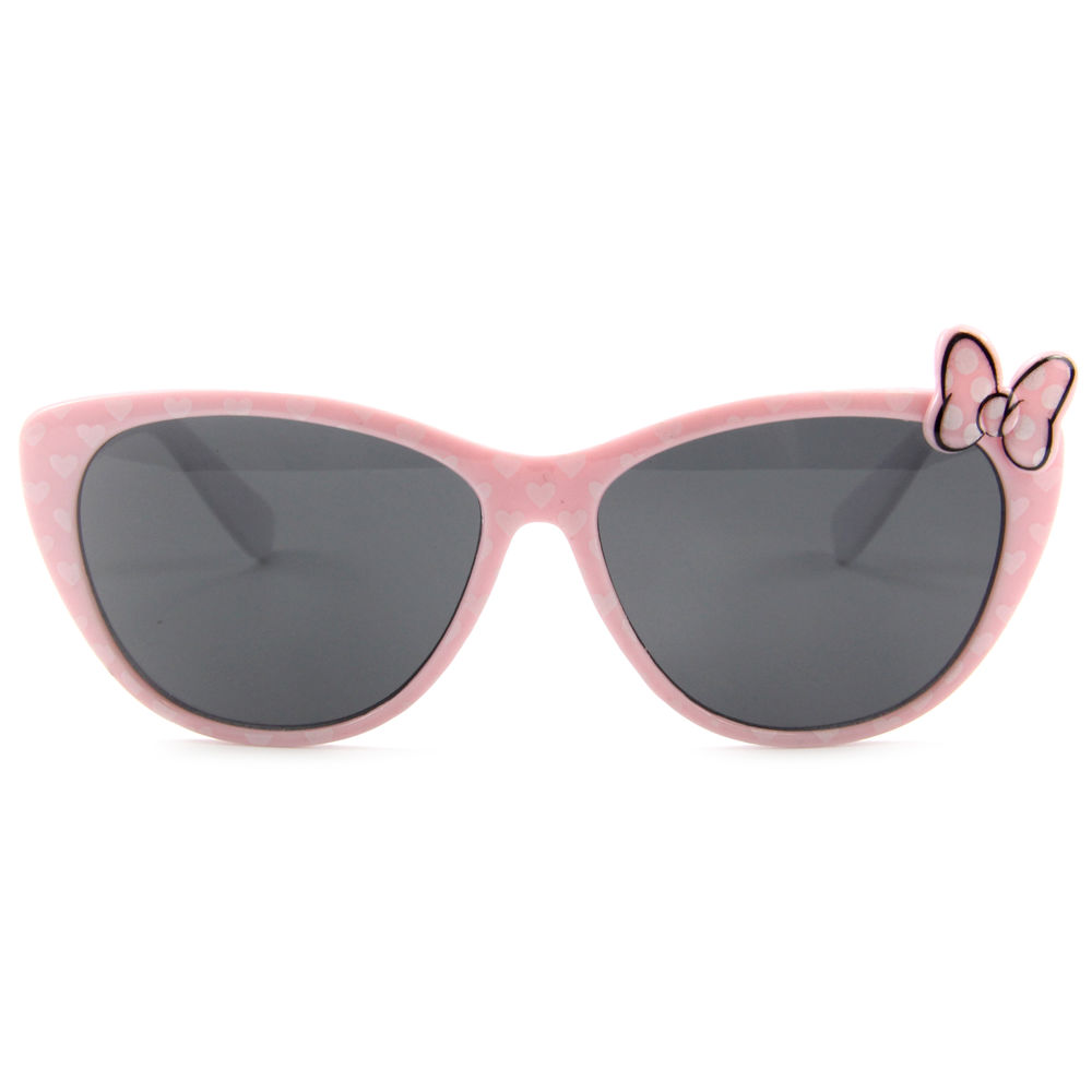 EUGENIA 2021 Wholesale Cute Kids Sunglasses Lovely Bows Cat Frame Girls bowknotSun Glasses