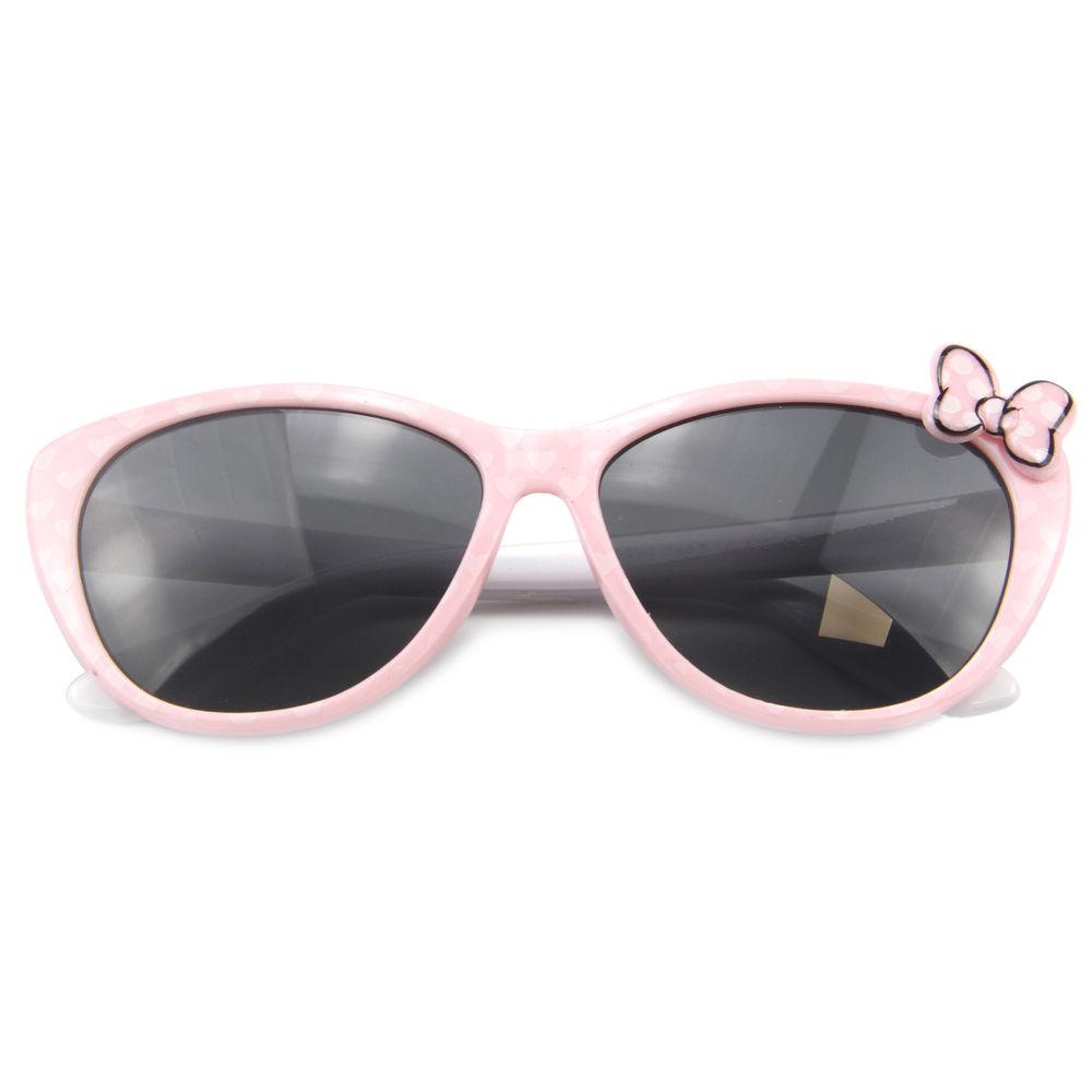 EUGENIA 2021 Kids Sunglasses Cute Cat Eye Sunglasses bowknot Decorated Sunglasses for Boys Girls