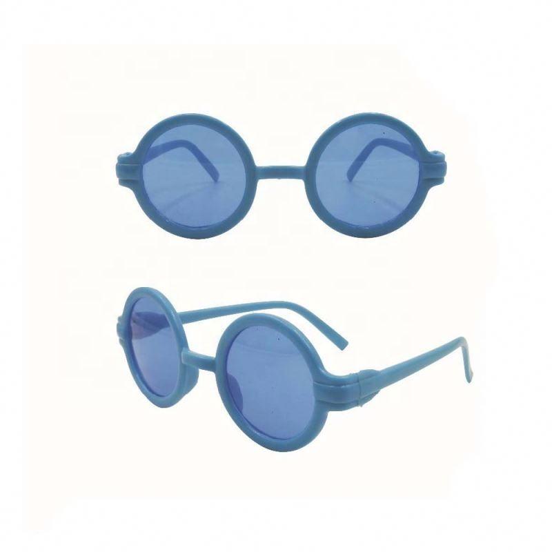 Latest novelty designer small cool round kids sunglasses