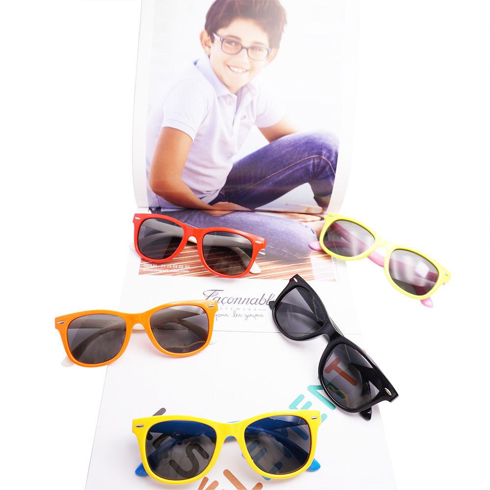 EUGENIA TPE kids sunglasses high quality unbreakable 2021 polarized kids sunglasses