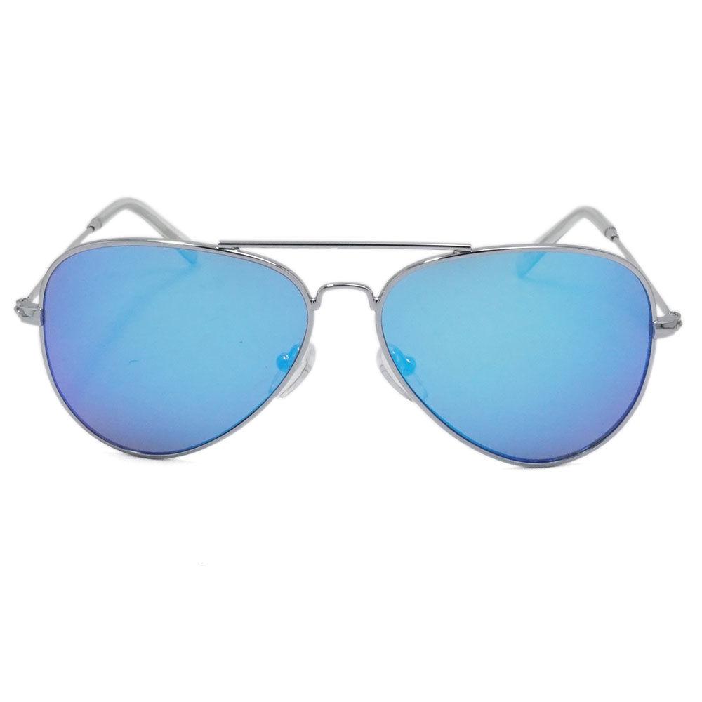 EUGENIA Fashion Mirror Lens Trendy Child Sun glasses Latest Aviation Metal Kids Sunglasses