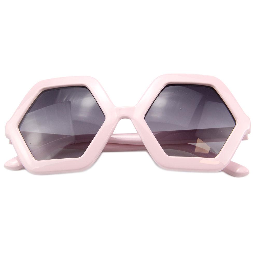 EUGENIA 2021 Korean New Fashion Polarized Light Filters UV400 Strong Light Cute Kids shape Sunglasses