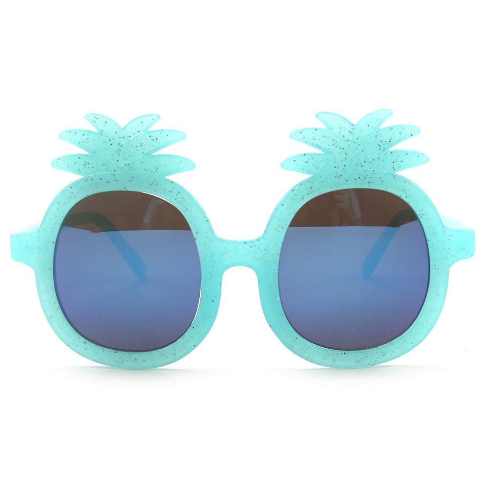 EUGENIA Best price cute pineapple shape multi color eyewear baby sun glasses china factory manufactory sunglasses