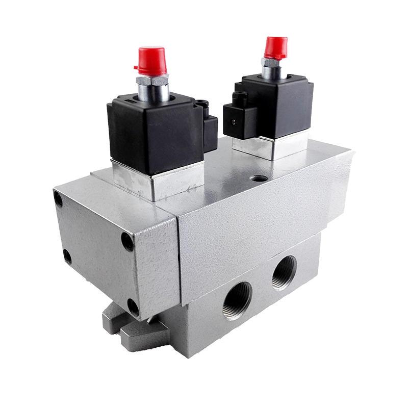 K35D2H-25 3 way 5 position Sliding column type directional valve 1inch Safety solenoid valve