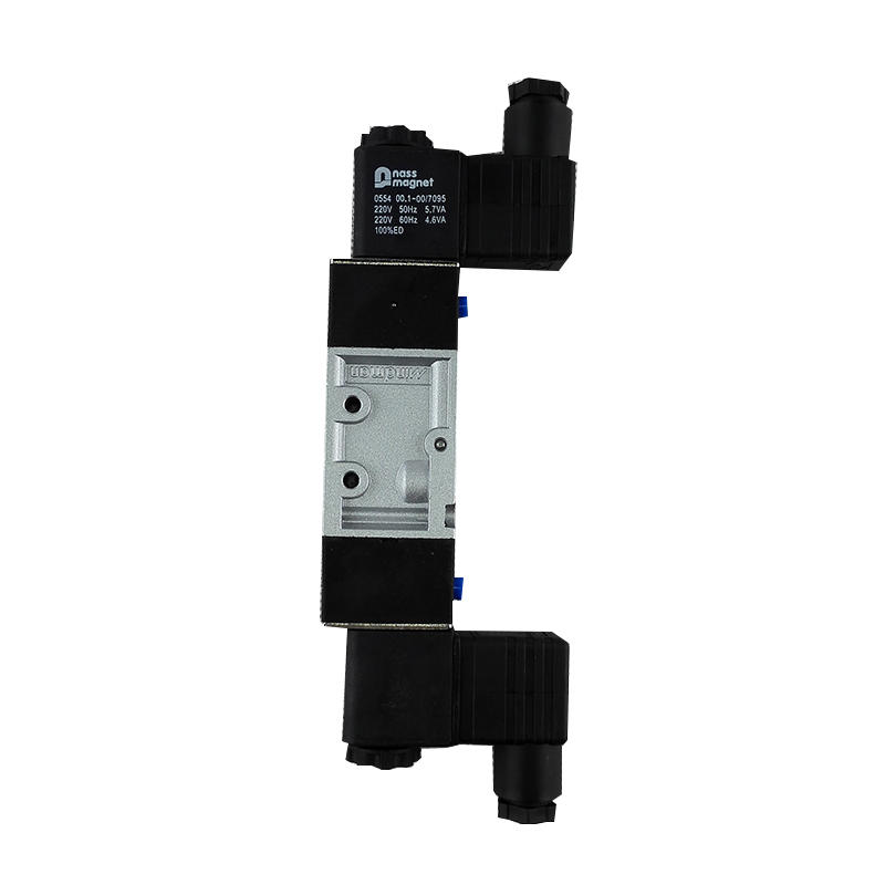 MVSC-220-4E2 Aluminium alloyComponents industrial equipment 220V Solenoid valve