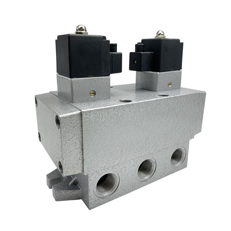 K25D2-20 K Series 2-position 5-way Sliding Column Reversing Valve Solenoid valve