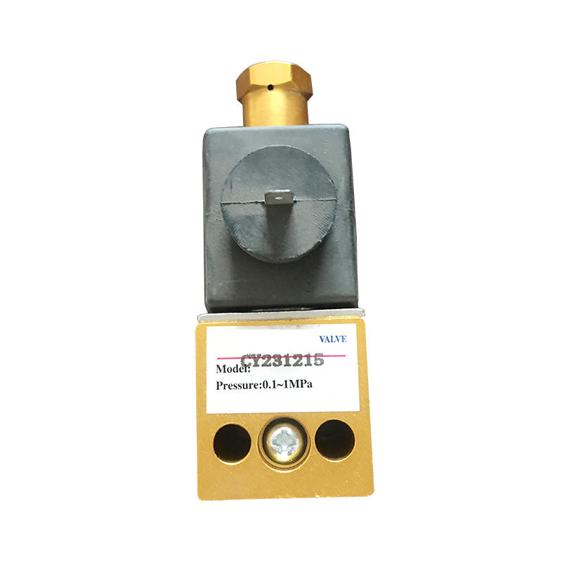 Factory CY231215 Aluminum Solenoid Valve For Military Vehicles