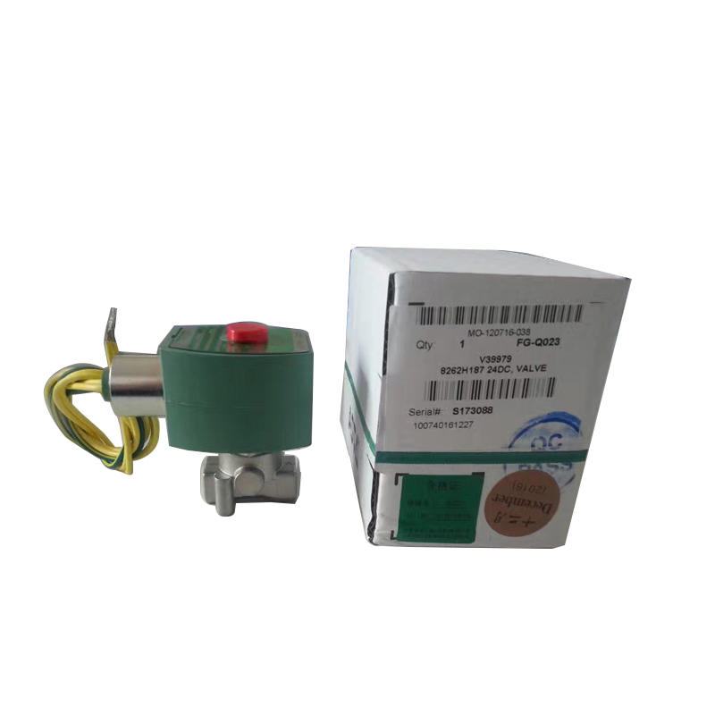 Pneumatic Valve 1/4 8262 Series 8262H114LT Pilot Operated Cryogenic and Liquid Solenoid Valve