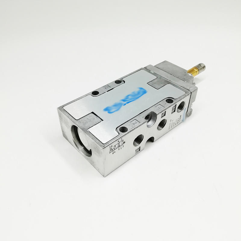 1/8 Inch Normally Closed MFH-5-1/8-B With Coil Tiger Classic Single Coil 5/2 Way Pneumatic Solenoid Valve
