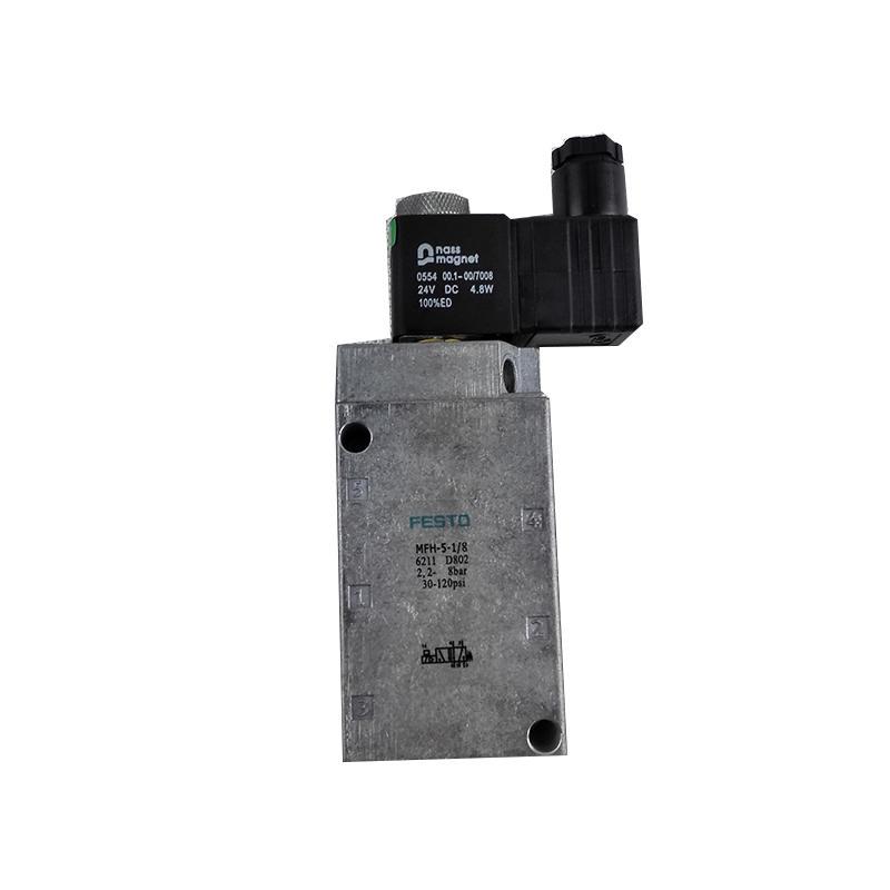 0554Tiger ValveFactory machinery5/2waySwitch control MFH-5-1/8 Solenoid valve