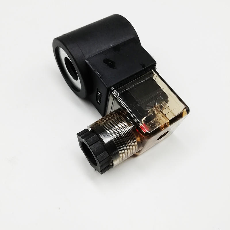 Poppet Type Cartridge Valve LSV2-08-2NCP With LED Normally Closed Poppet Solenoid Valve