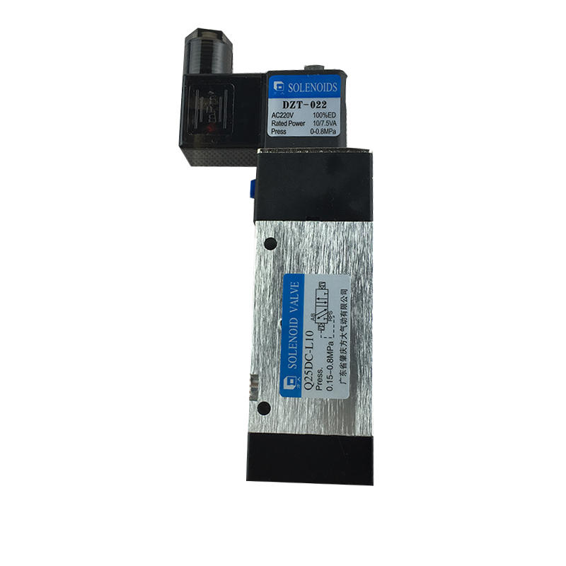 Q25DC-L10 Two-positionFive-wayElectricallyControlled Commutation Valve AC220V DC24V Solenoid Valve