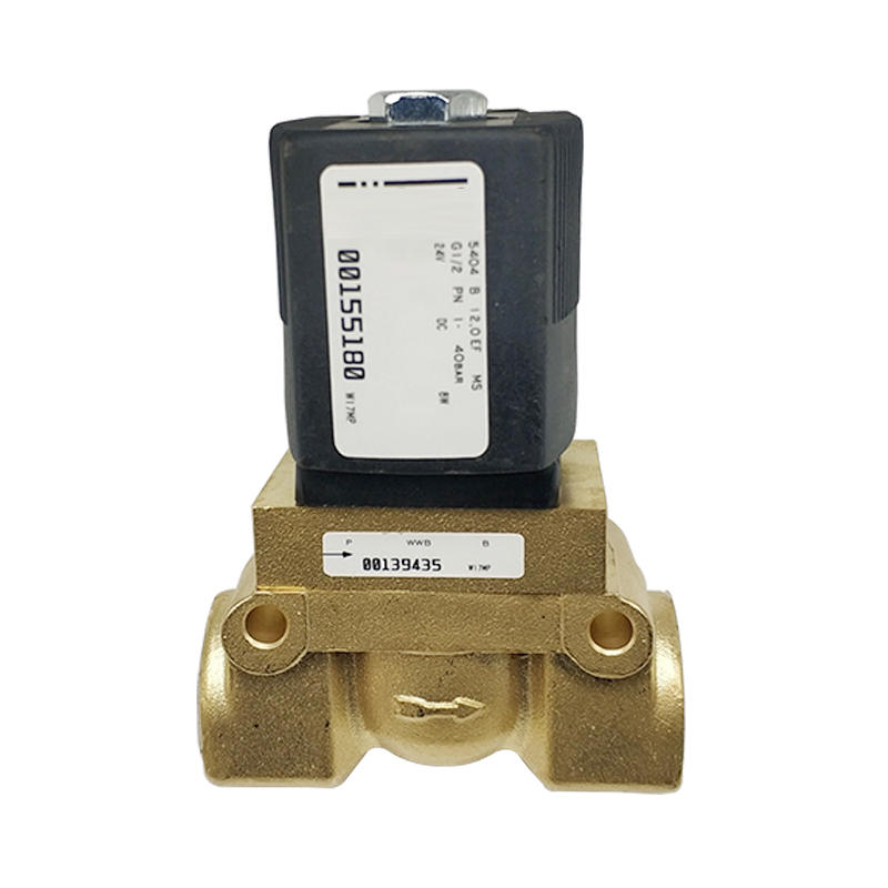 5404-04 2/2 Way 1/2 Inch Brass 00155180 DC24V 8w Pneumatic Solenoid Valve