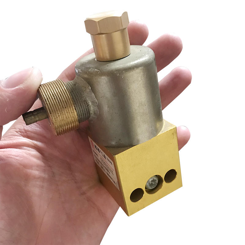 Yellow Aluminum Alloy Pneumatic Valve Factory Sale CY231215X Solenoid Valve For Military Vehicles