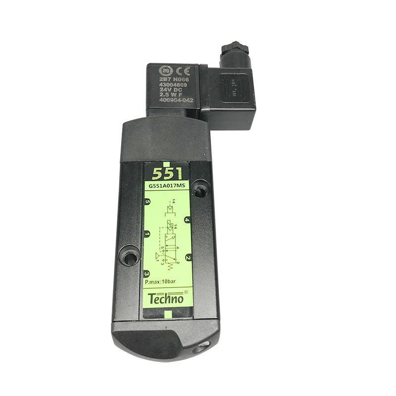G551A017MS G551A018MS Single/Dual Solenoid 1/4 Inch Aluminium Alloy Spool Solenoid Valve