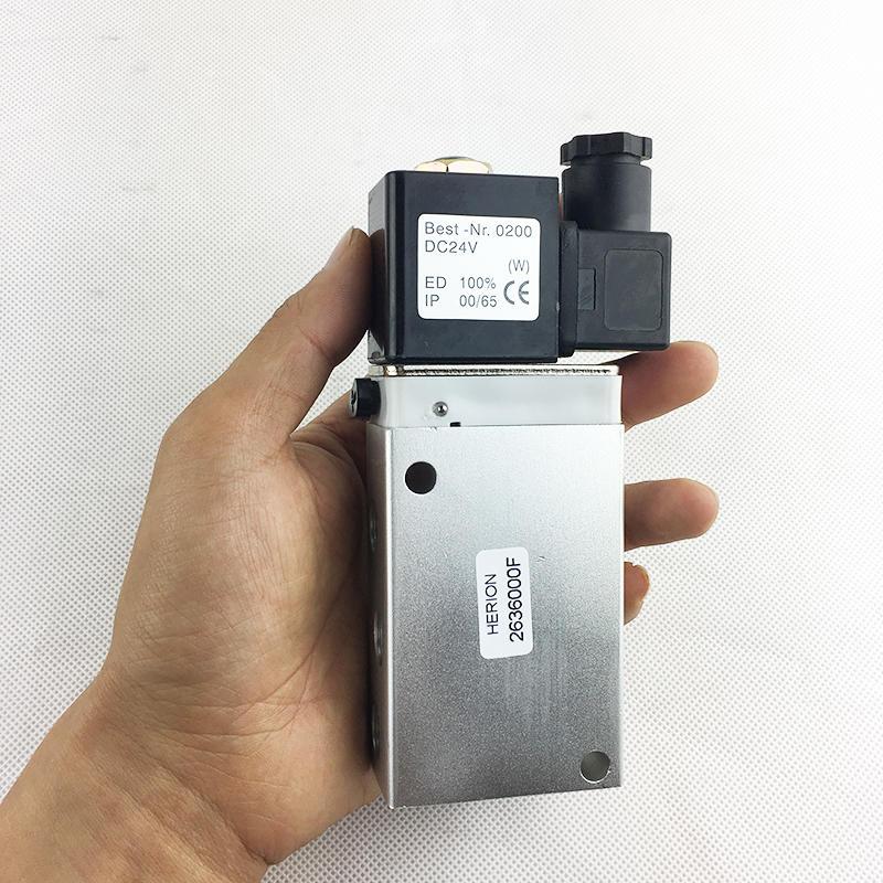 2636000FElectromagnetic valveindustrial equipment pilot controlledSolenoid valve