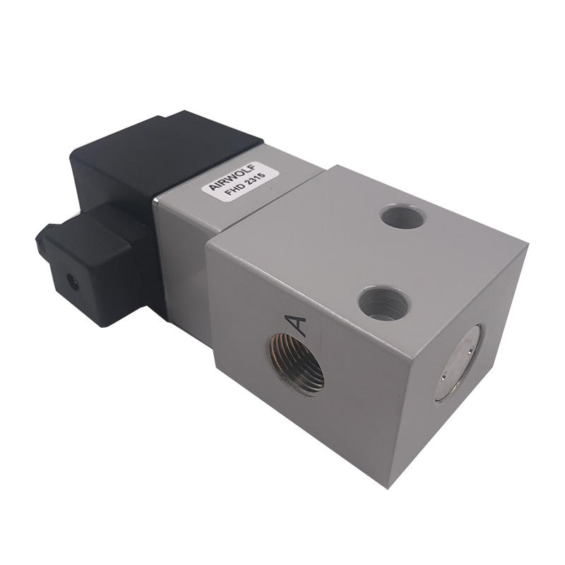 Applicable to all kinds of voltage FHD2315 1/2inchEnvironment-friendlyair valve high pressure solenoid valve