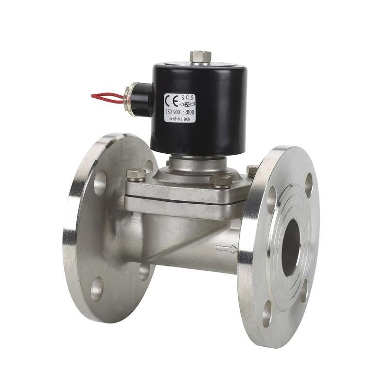 SS304 2/2 way SUWF-50 solenoid valve pilot Viton seals Solenoid valve