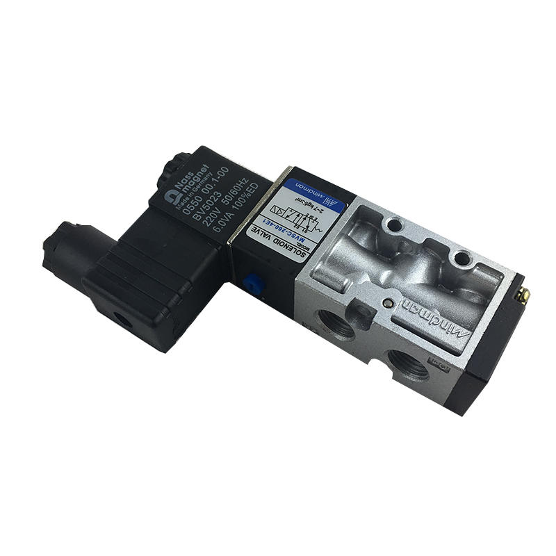 MVSC-260-4E1 Aluminium alloyindustrial equipment 220V Solenoid valve