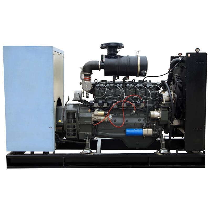 24v Electric Start 144A Open Frame Natural Gas Power Generator for Bio Gas Power Plant Generation