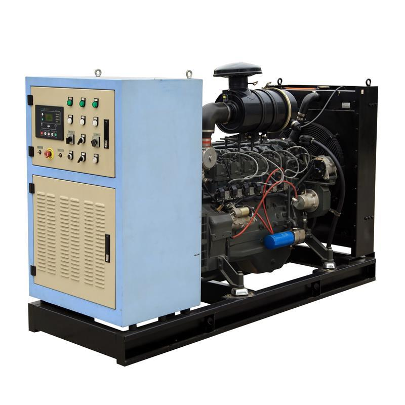 Factory Sales Low Consumption Natural Gas Water Cooling 80 Kva Gas Generator