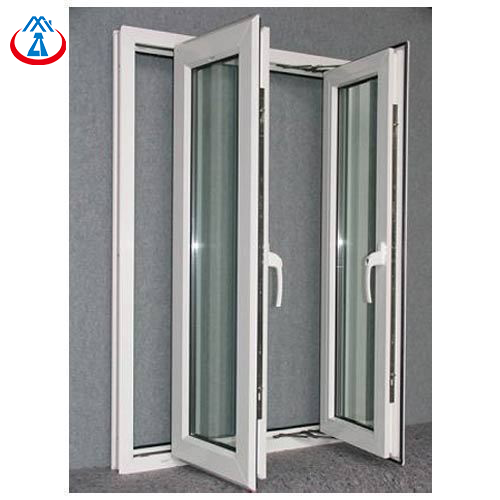 High Quantity Aluminum Double Glazed Tempered Glass Swing Window for House