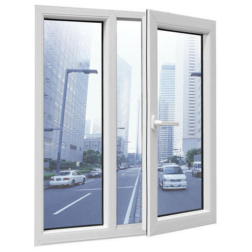 Best Quality Double Glass 5mm+9Amm+5mm White Color Aluminum Frame Swing Window