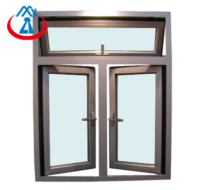 Aluminium Swing Out Window For House or Villa