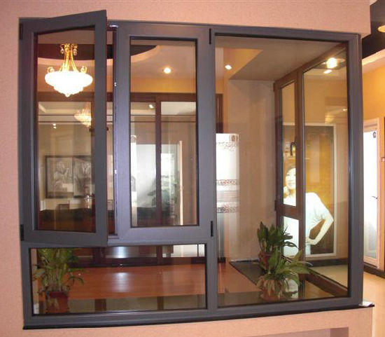 Wholesale top selling products double swing sash window with fan