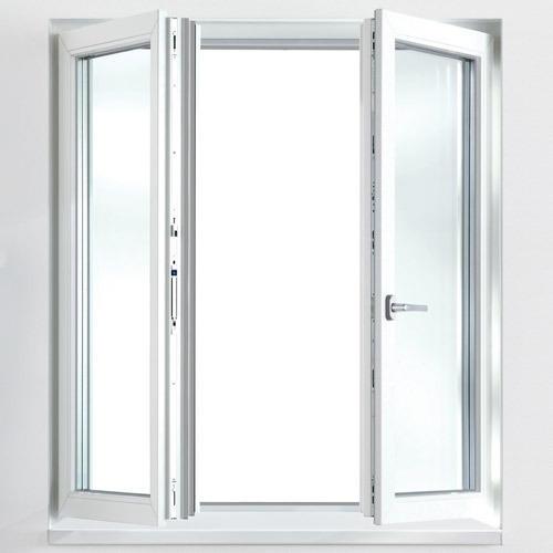 Aluminum Frame Tempered Glass Casement Window Design