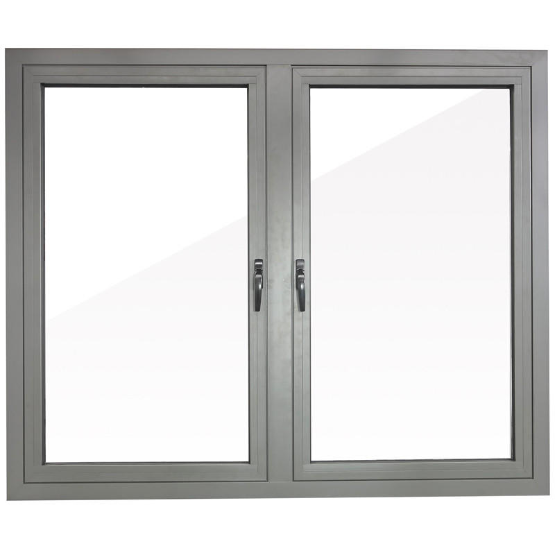 1000*1200mm White Color Aluminum Double Glass Swing Window For house