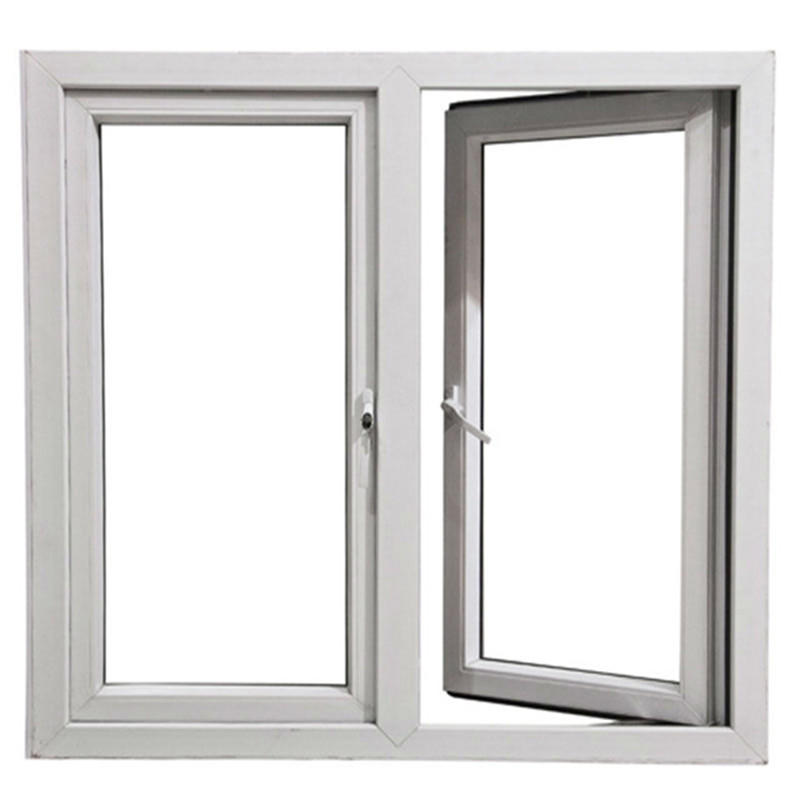 8mm High Quality Customized Aluminum Frame Tempered Glass Swing Window