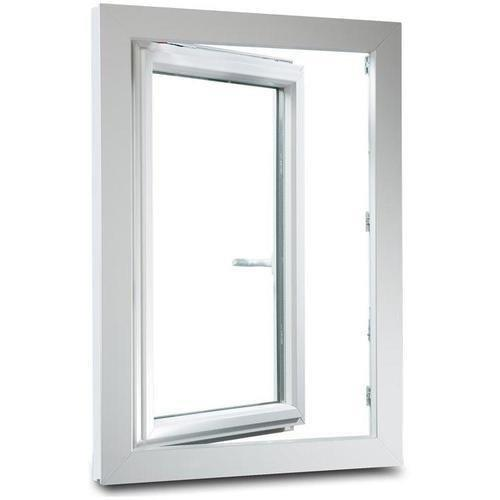 White Frame Color Powder Coating Double Glass Factory Price Aluminum Swing Window