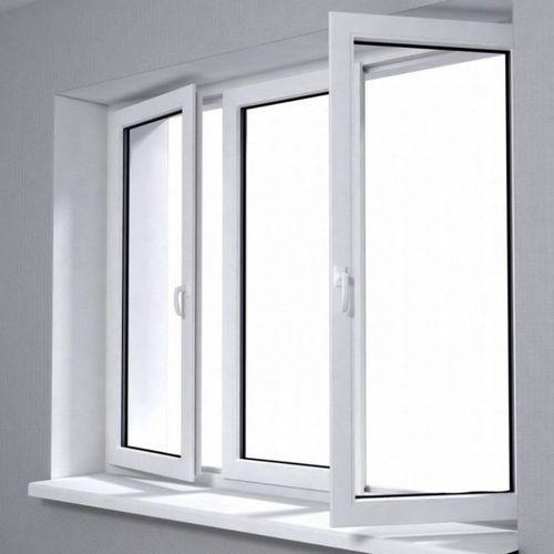 Double Glass Clear Tempered Glass Sound Insulation Factory Price Aluminum Swing Window