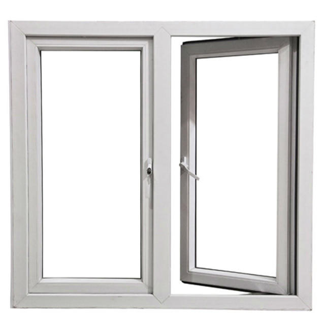 High Ouality Aluminum Tempered Glass Swing Window with screen