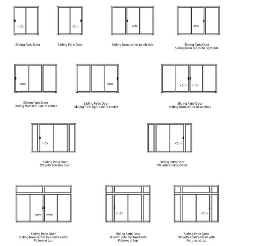 Customized Color Outdoor Thermal Break Double Glazed Bifold bi fold Doors