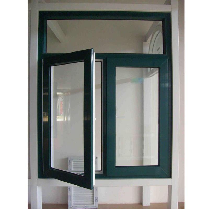 Aluminum Tempered Glass Casement Windows for sale