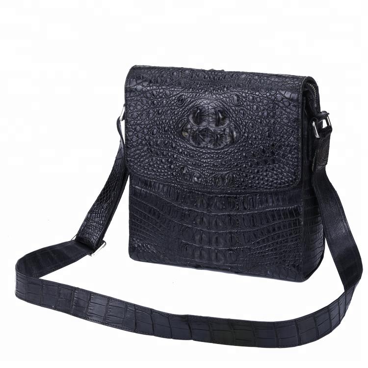 Customized Business Men Leather Shoulder Bag Mens Messenger Bag