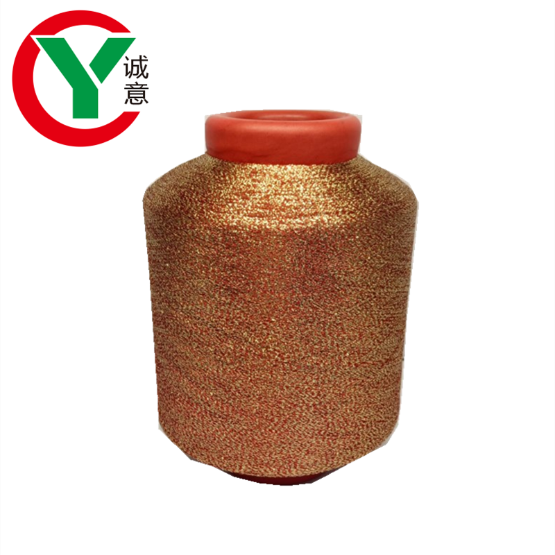 Factory customization MX MH type metallic polyester yarn with cheap prices