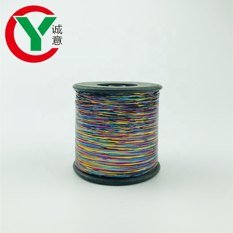All type to Pakistan Market 12 Micron M-Type Colors metallic Lurex Yarn for Embroidery