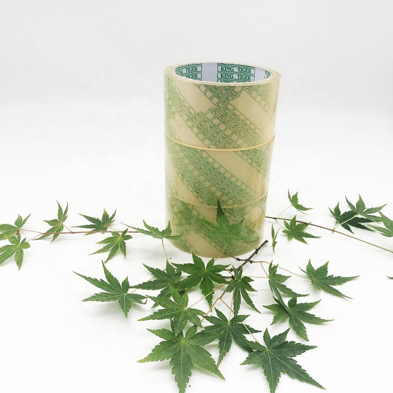 Eco-friendly Transparent Adhesive Tape 100% biodegradable and compostable Packing Tape
