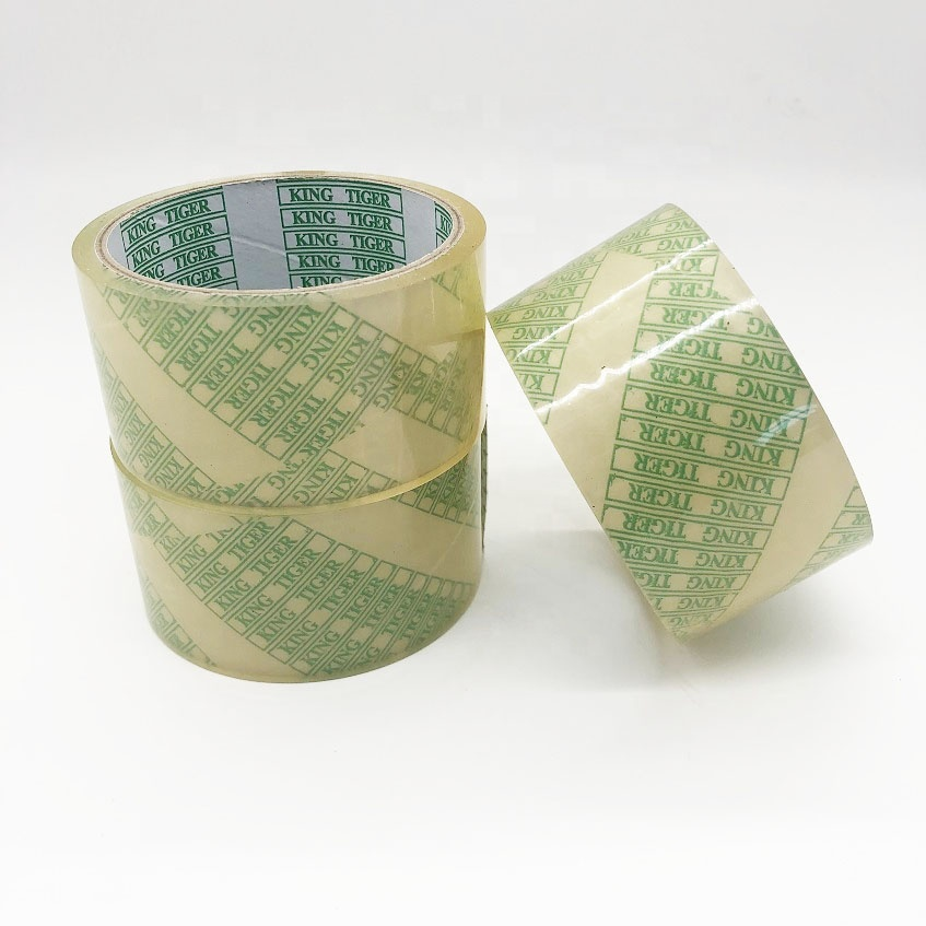 Eco-friendly 100% biodegradable waterproof self adhesive tape compostable transparent packing tape