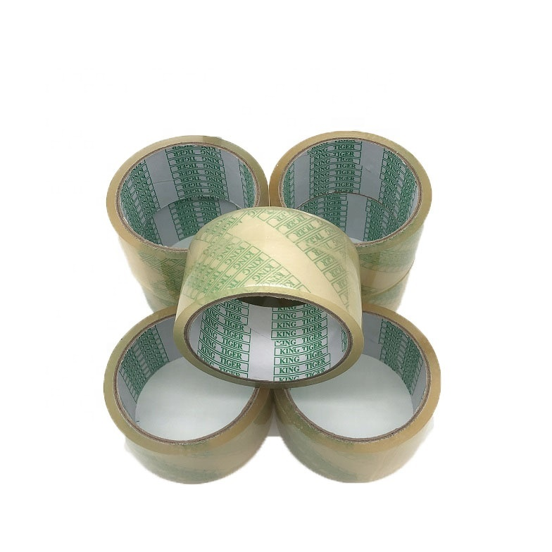 Factory eco friendly waterproof self adhesive tape transparent adhensive tape compostable