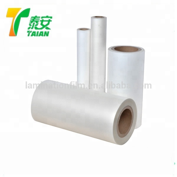 30Micron BOPP Thermal Velvet Lamination Film Matt Soft Touch Laminating Film For Products Protect