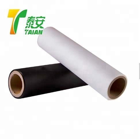 TAIAN Transparent Silky Thermal Laminating Printing Roll Film 35mic Clear BOPP Matte Velvet Soft Touch Lamination Film
